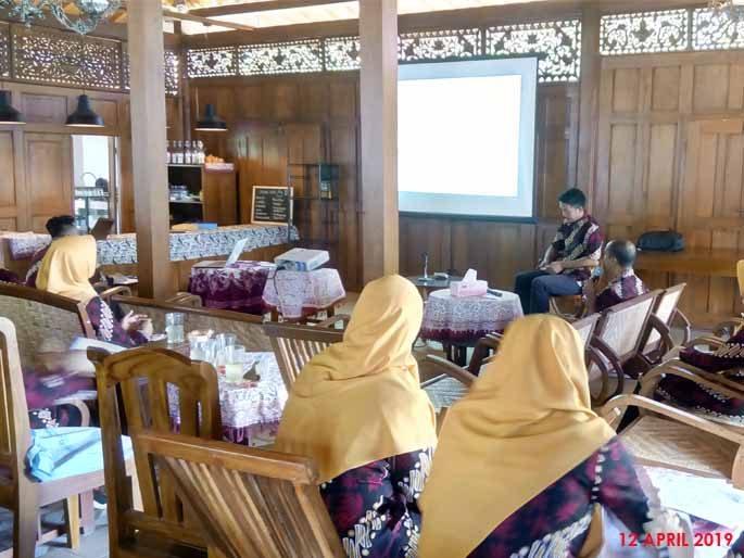 Lokmin UPTD Puskesmas Wates 12 April 2019